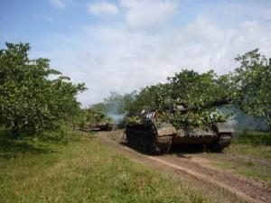 Hình ảnh hùng dũng của bộ đội tăng - thiết giáp Việt Nam
